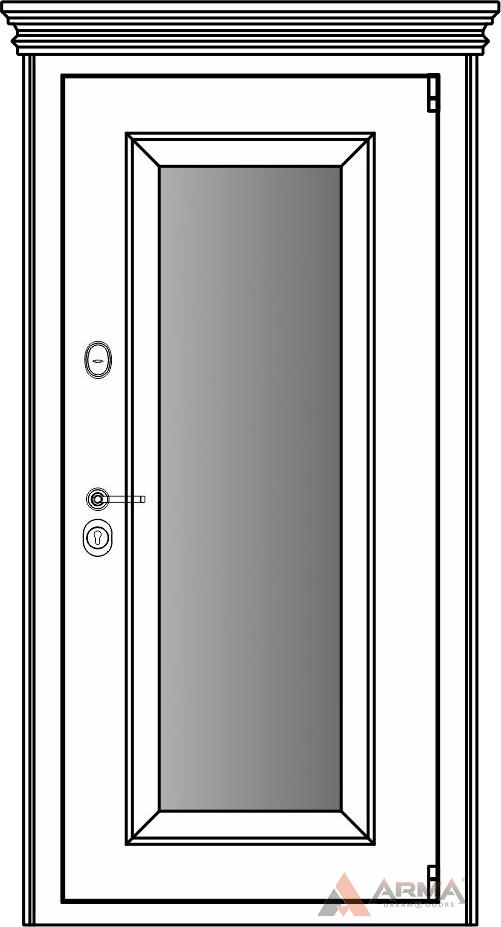СБ-1 окно + капитель