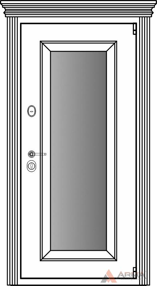 СБ-1 окно + капитель + наличники империал без каблучков