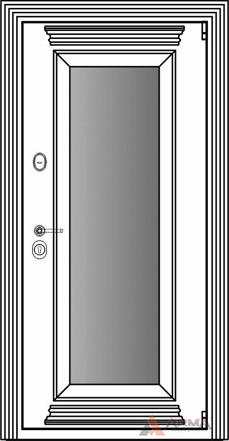 СБ-1 окно + карнизы + наличники империал без каблучков