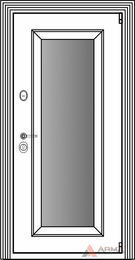 СБ-1 окно + наличники империал без каблучков