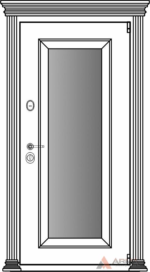 СБ-1 окно + капитель + наличники империал