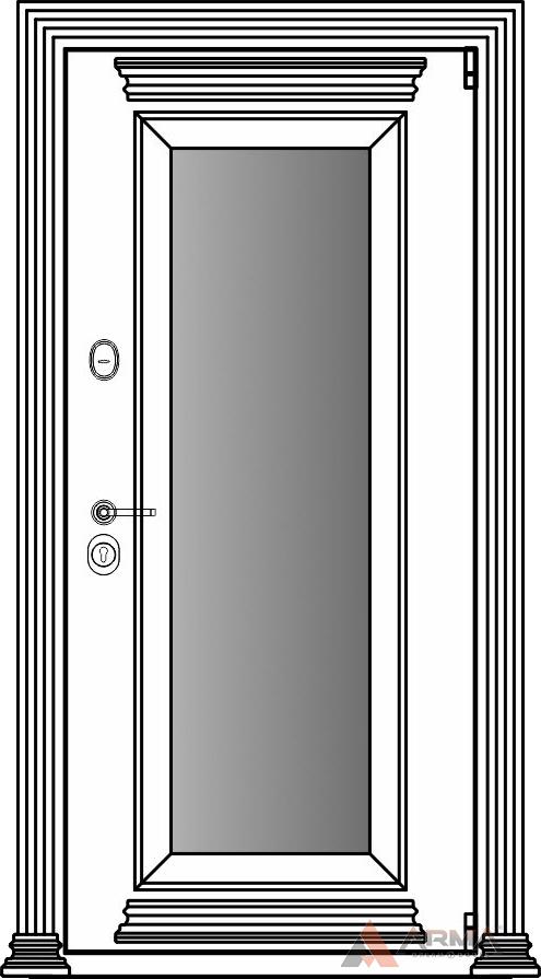 СБ-1 окно + карнизы + наличники империал