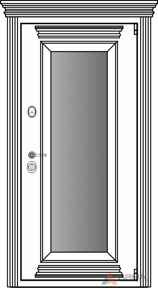 СБ-1 окно + карнизы + капитель + наличники империал без каблучков