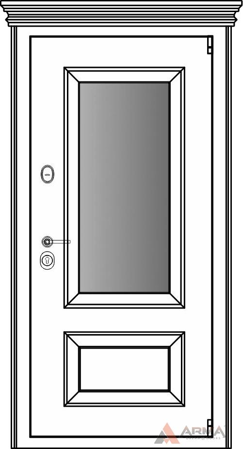 СБ-3 окно + капитель