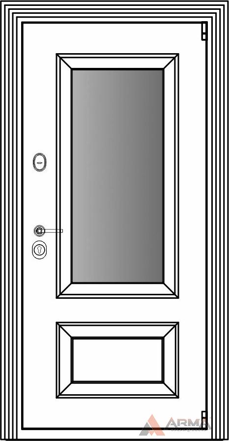 СБ-3 окно + наличники империал без каблучков