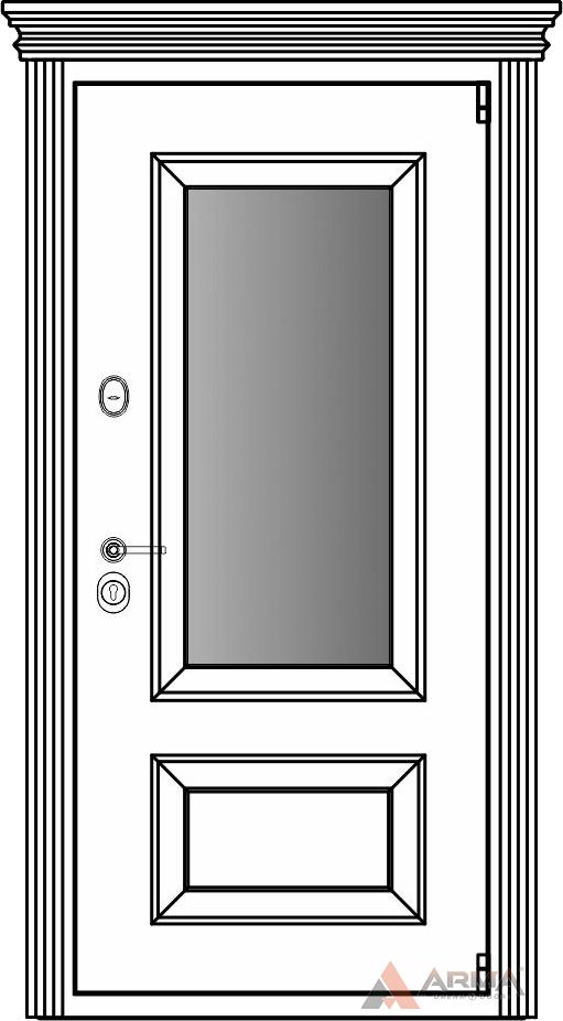 СБ-3 окно + капитель + наличники империал без каблучков