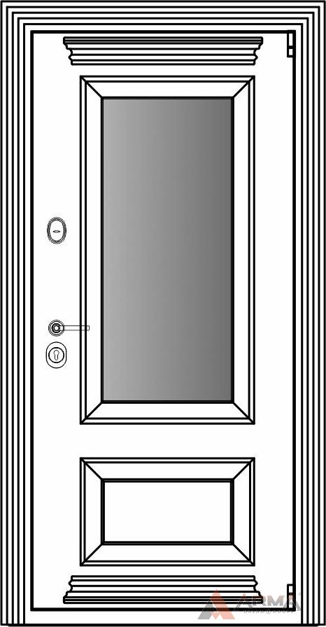 СБ-3 окно + карнизы + наличники империал без каблучков