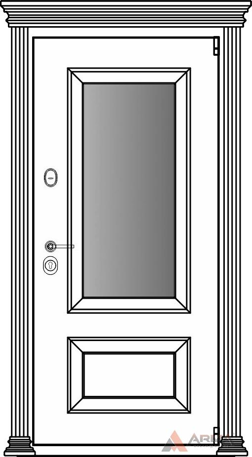 СБ-3 окно + капитель + наличники империал