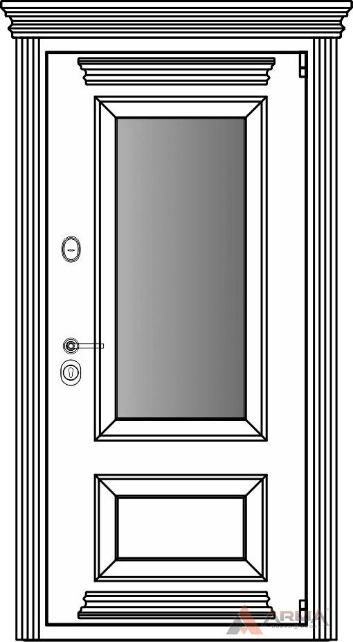 СБ-3 окно + карнизы + капитель + наличники империал без каблучков