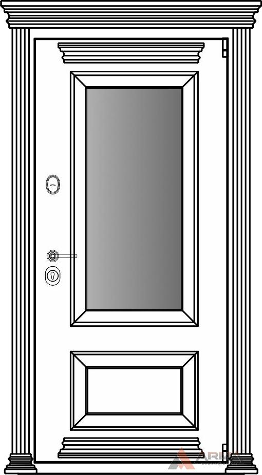 СБ-3 окно + карнизы + капитель + наличники империал (комплект Империал)
