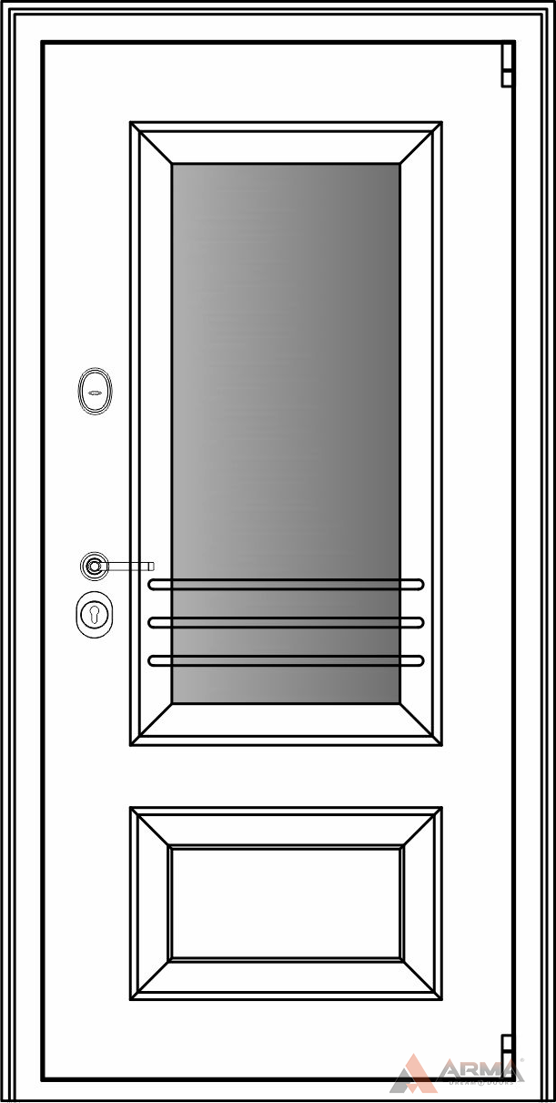 СБ-3 окно рейлинги